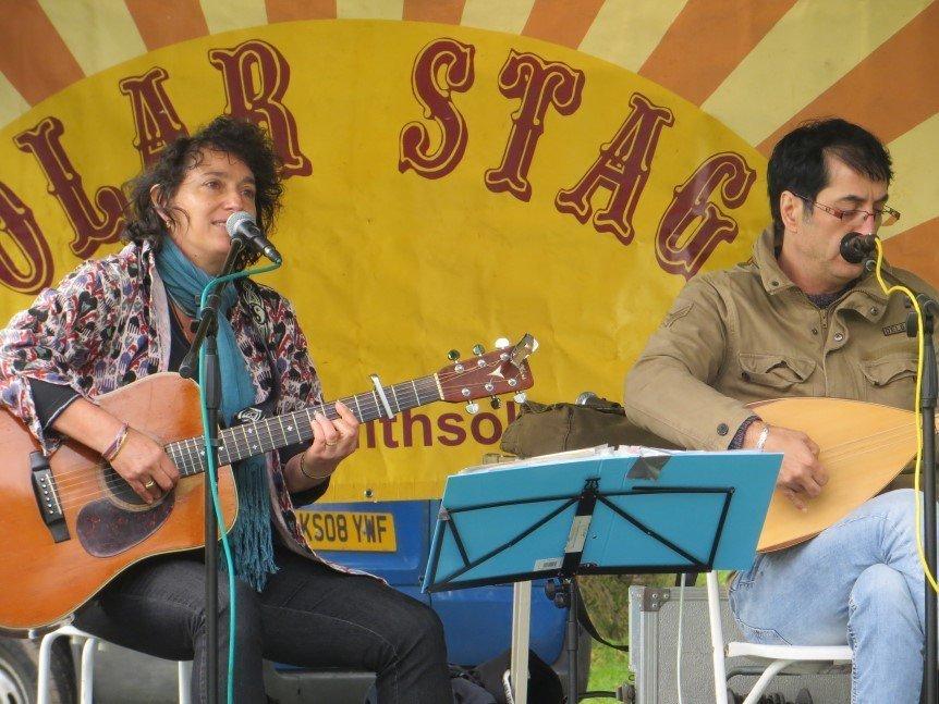 Alexandra Park Solar Stage Paula Darwish