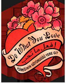 Paula Darwich Music Tattoo Logo